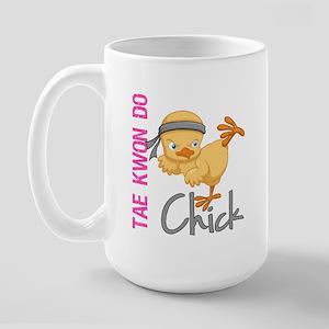 Tae Kwon Do Chick 2 Large Mug
