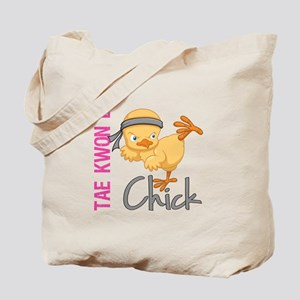 Tae Kwon Do Chick 2 Tote Bag