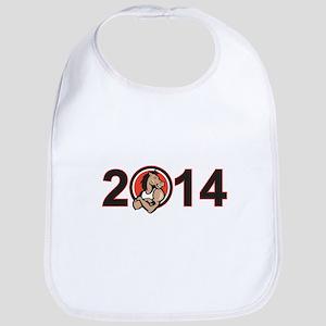 Year of Horse 2014 Mascot Bib