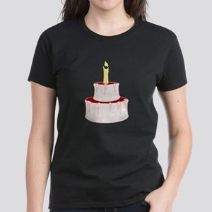 Cake With Candle T-Shirt