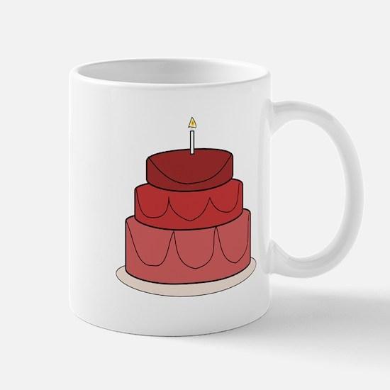 Layered Cake Mugs
