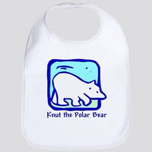 Knut the Polar Bear Bib