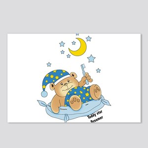 goodnight teddy bear Postcards (Package of 8)