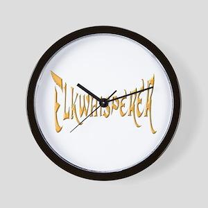 Elkwhisperer Wall Clock