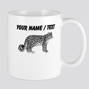 Custom Bobcat Sketch Mugs