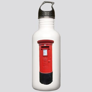 A British Post Box Stainless Water Bottle 1.0L