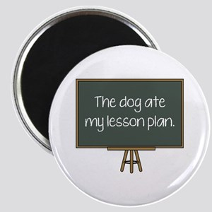 The Dog Ate My Lesson Plan Magnet