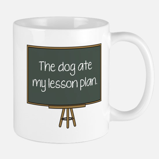 The Dog Ate My Lesson Plan Mug