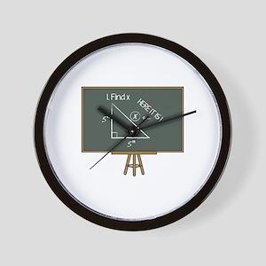 Find X Wall Clock