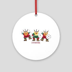 Danmark beast Ornament (Round)