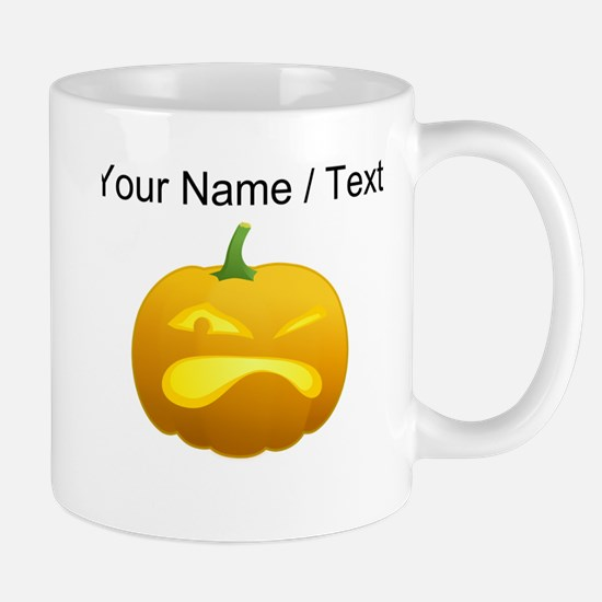 Custom Annoyed Jackolantern Mugs