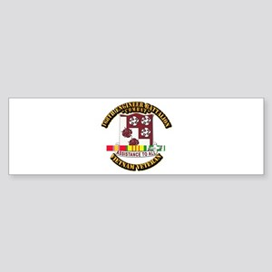Army - 168th Engineer Bn w SVC Ribbon Sticker (Bum