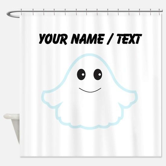 Custom Cartoon Ghost Shower Curtain