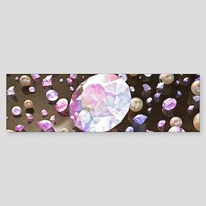 Diamonds and Pearls Sticker (Bumper)