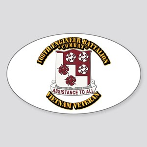 Army - 168th Engineer Bn Sticker (Oval)