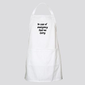 Feed me Curry BBQ Apron