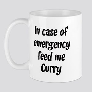 Feed me Curry Mug