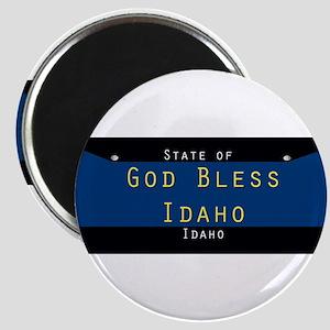 Idaho God Bless Magnets