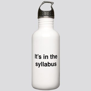 It's In The Syllabus Stainless Water Bottle 1.0L