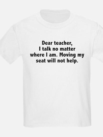 Dear Teacher T-Shirt