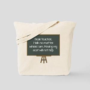 Dear Teacher Tote Bag