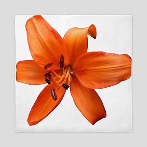 Orange Lilly Queen Duvet