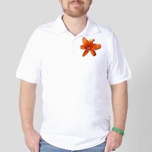 Orange Lilly Golf Shirt