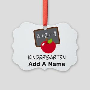 Personalized Kindergarten Ornament