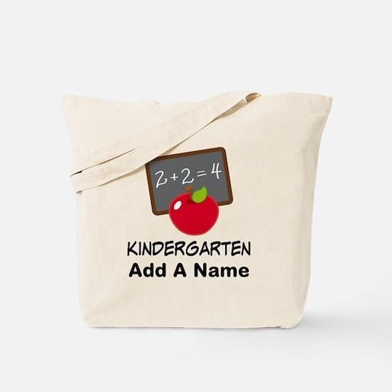 Personalized Kindergarten Tote Bag