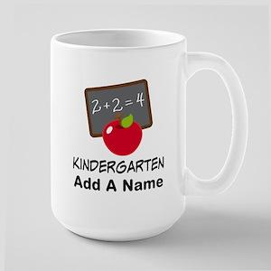 Personalized Kindergarten Mugs