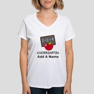 Personalized Kindergarten T-Shirt