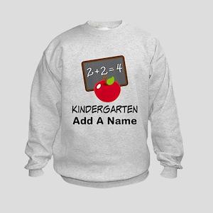 Personalized Kindergarten Sweatshirt