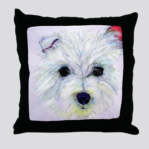 Westie! Throw Pillow