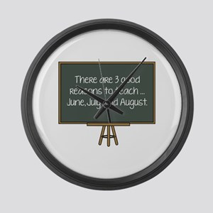 There Are 3 Good Reasons To Teach Large Wall Clock