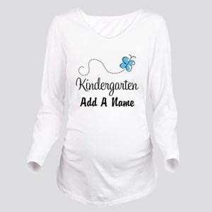Personalized Kindergarten butterfly Long Sleeve Ma