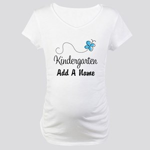 Personalized Kindergarten butterfly Maternity T-Sh