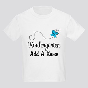 Personalized Kindergarten butterfly T-Shirt