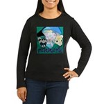 Ferrets! Women's Long Sleeve Dark T-Shirt