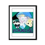 Ferrets! Framed Panel Print