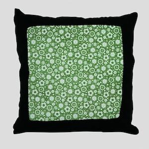Floral Pat 2 Throw Pillow