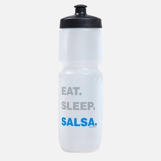 Eat Sleep Salsa Sports Bottle