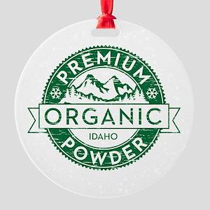 Idaho Powder Round Ornament