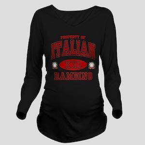 bambinowht Long Sleeve Maternity T-Shirt