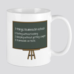 3 Things I Learned In School Mug