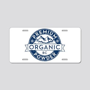 BC Powder Aluminum License Plate