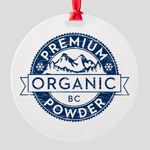 BC Powder Round Ornament
