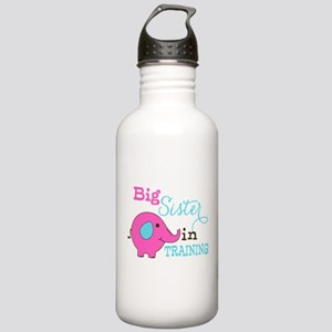Big Sister in Training Elephant Water Bottle