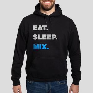 Eat Sleep Mix Hoodie (dark)