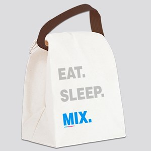 Eat Sleep Mix Canvas Lunch Bag