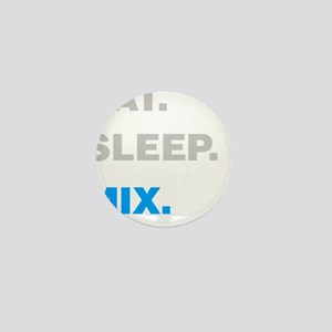 Eat Sleep Mix Mini Button